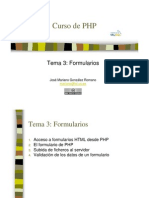 PHP Formularios