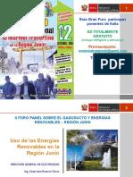 2016_Uso de Las Energias Renovables en La Región Junin