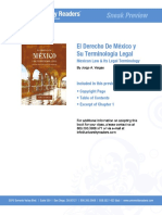 ESTRUCTURA SUSTANCIA El Derecho Mexicano y Su Terminologia