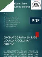 Cromatografía en Columna Abierta