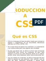 Introduccion Historia CSS