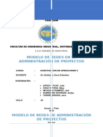 Casos de Modelo de Redes en Proyectos
