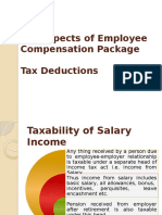 5. 6 Employee Compensation Package, Tax Deductions (2)