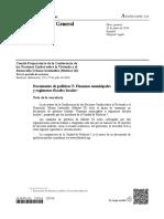 5. Financiación Municipal y Sistemas Locales Fiscales