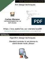 2012 03 30 Algorithm Paradigms