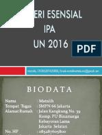 Analisis Un Ipa 2016 Ok Benar