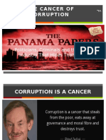 The Cancer of Corruption