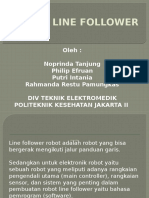 Robot Line Follower Intan