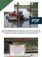 Ottawa River dredging activities, May 2010