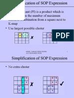 Boolean Algebra (4) K-MAP 2