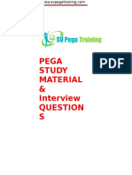 Pega Study Tutorial&Interview Questions