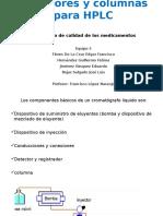 inyectores HPLC