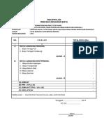 Rekap Biaya RDTR Kota Donggala