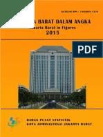 Jakarta Barat Dalam Angka 2015
