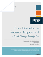 From Distribution to Audience Engagment