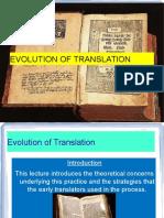 Evolution of Translation