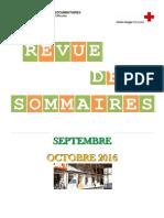 RS Septembre, Octobre 2016