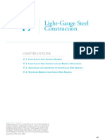 Chapter 17 Light-Gauge Steel Construction