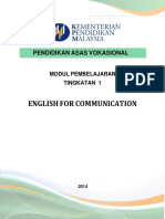 MODUL English for Communication