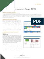 Data Quality Assessment Manager(DQAM)