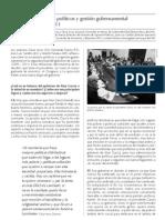 Escenarios políticos y gestión gubernamental 2009 - 2011
