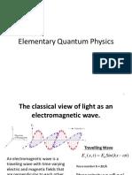 Elementary Quantum Physics 20160926