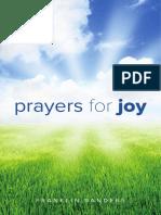 Prayers for Joy - Franklin Sanders