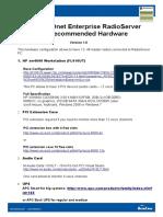 TRBOnet Enterprise Recommended Hardware 1.2
