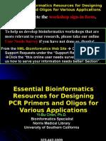 PCR primer design.ppt