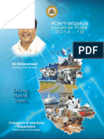 Karnataka Industrial Policy 2014
