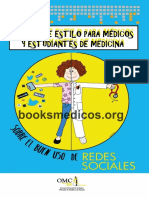 Manual de Estilo para Medicos y Estudiantes de Medicina sobre el buen uso de Redes Sociales.pdf