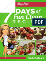 CFC 7Days of Fun Clean Recipes