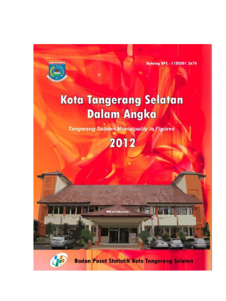 Kota Tangerang Selatan Dalam Angka 2012 fb7240d500
