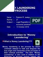 Money Laundering Process Ppt..