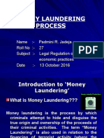 Money Laundering Process Ppt..