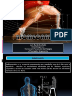 Biomecanica en La Ergonomia