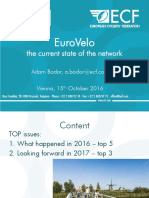 1 Current Status of the EuroVelo Network