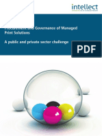 Managed Print Services Procurement and Governance Paper