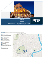 My Rome in 3 Days Itinerary of Top Attractions