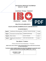 IBO Plant Biology Practicum Booklet 2INA