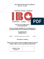 IBO Plant Biology Practicum Booklet 1INA