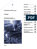 Fraisage. SINUMERIK 802D sl pro. Fraisage. Avant-propos. Introduction. Aperçu du système 2. Fonctions de réglage 3 (1).pdf
