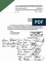 Declaratia Parlament RM Privind Acceptarea Holocaust Raport Elie Wiesel