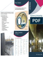 Engineering Hydrogeology Trifold