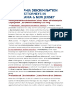 Philadelphia Discrimination Defense Attorneys in Pennsylvania
