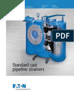 Eaton Standard Cast Pipeline Strainer Brochure US LowRes