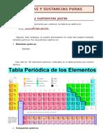 Mezclas, Sustancias Puras y Procesos de Separación 1FPB-Imprim