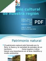 Patrimonio Cultural de Nuestra Región