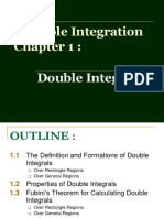 Chapter 1 - Double Integrals (1)