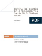 Manual de Gestion Sg-sst
